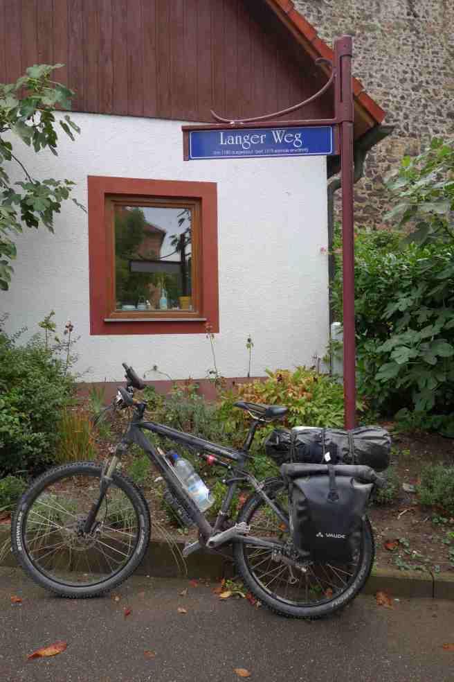 Radweg in Breisach