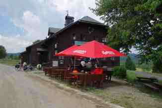 Der Gasthof ist das einzige Relikt des ehemaligen Ortes Fürstenhut