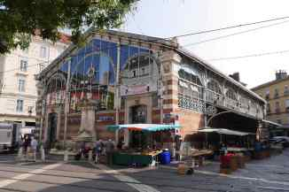 Markthalle in Grenoble
