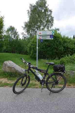Grenze bei Haidmühle