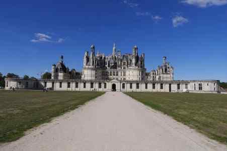 Château de Chambord - Parkansicht