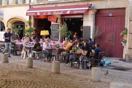Typischer Bouchon in Lyon