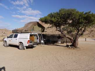 Campingplatz in Aus