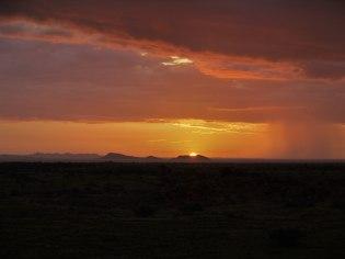 Sonnenuntergang bei Solitaire