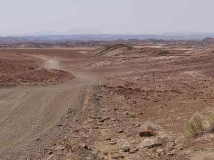 Marslandschaft der Gobobosberge