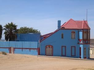 Farbenfrohe Jugendstilhäuser
