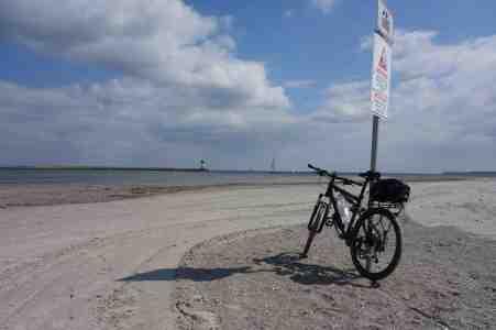 Am Strand von Priwall