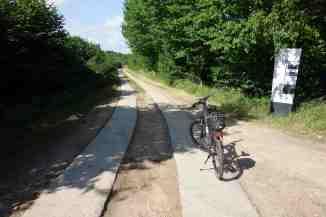 Grenznaher Kolonnenweg bei Schlagsdorf
