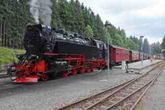 Schierker Bahnhof am Brocken