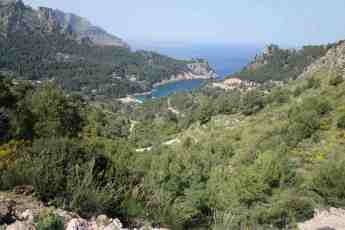 Die Bucht von Cala Tuent