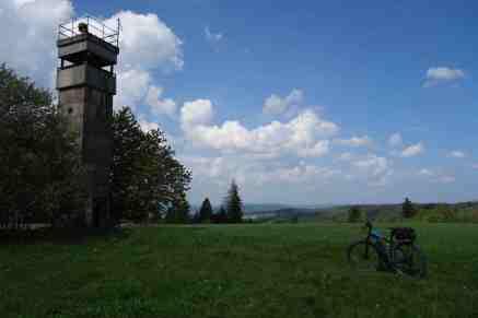 Über dem Frankenwald